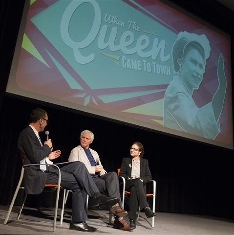 'When the Queen came to Town' event